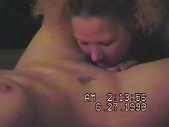 First lesbian experience of my wife