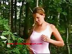 Blowjob in the forrest