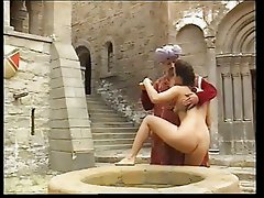 Deborah Wells fucked in Medieval castle