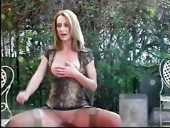 Brenda James sexy smoking fetish
