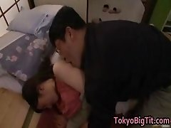 Azusa Nagasawa Hot Asian model has huge part1