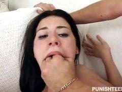 little slut kymberlee anne taking his meat deep in her snatch