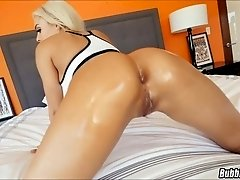 Blonde Latina with a Bubble Butt