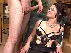 Nothing makes Jeny Baby happy like sucking on a fat pecker