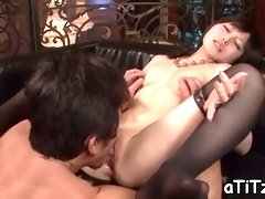 big tits asian's exquisite toying