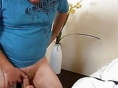Soaked pussy of mature babe is roughly gangbanged