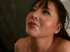 Cute Japanese Girl Blowjob And Cumshot 0m21