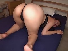 Big booty AV girl Yui Oba sucks and rides a cock to orgasm