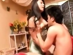 Bodacious Oriental milf knows exactly how to please a cock
