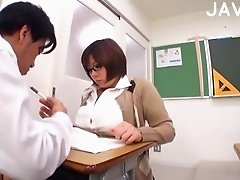 Teacher's boobs are great