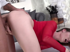 Wondrous emotional babe with sexy ass Lovenia Lux is anal banged doggy