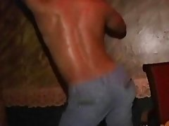 2 lustful guys arrange a rimming session