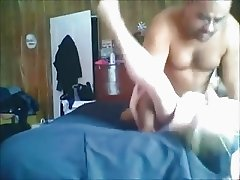 Amateur MILF gets anal