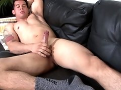 One of the things he likes the most is jerking his hard cock