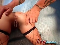 Anal sex session with alluring blonde chick Sophia Ferrari