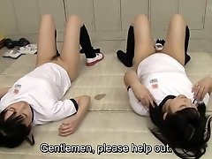 Hot girls anal sex practice begins HD subtitled