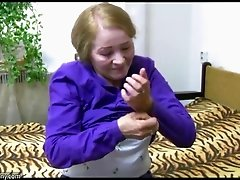 Wild granny with big boobs enjoying a hardcore missionary style fuck