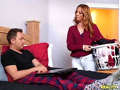 Mature nympho Brianna Bree rides a younger dude's big dick