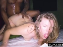 BLACKEDRAW GF cheats with the BIGGEST cock she's EVER seen