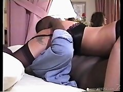 Captivating Blonde In Stocking Getting Gangbanged Hardcore