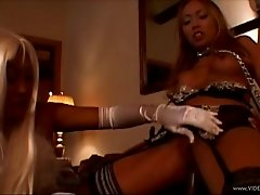 Striking Cougar In High Heels Riding Massive Dick Doggystyle