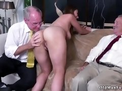 Two old men fuck young girl and daddy solo xxx After