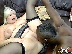 Dirty British BBW Lacey is the naughtiest anal slut and she is always hungry