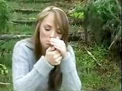 hot girl charlie smoking