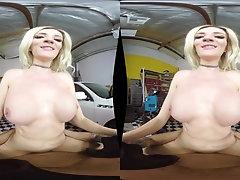 Blake Morgan is a pale blonde craving a stiff pleasure rod