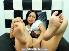 sexy colombiana joi and sexy feet