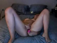hot vid.014  toying  pussy