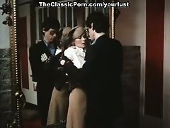 Alluring vintage lady Veronica Hart is fucked by horny guy Robert Kerman in classic porn clip