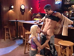 silicone lady Puma Swede gets her pussy fucked by a handsome guy