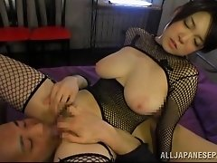 Accepting babes with big tits getting her pussy fingered before being drilled hardcore missionary