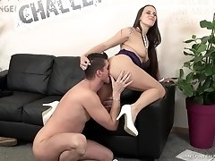 Lucky dude fucks Mea Melone in various different positions