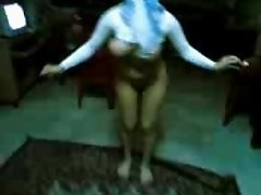 Arab woman dancing