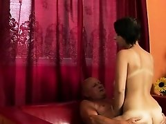 Sexy model screaming anal