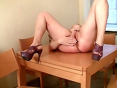 Pleasuring Herself