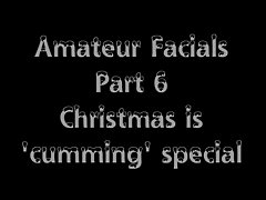 Amateur Facials - Best of Part 6 - Christmas special!