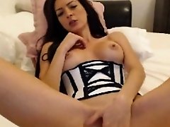 Laisa Lins solo masturbation