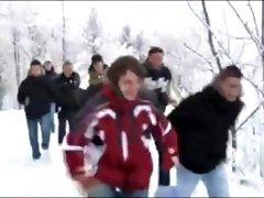 Bareback Snowriders. (2).