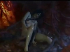 Girl Trapped Inside Alien Monster!