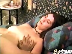 Masturbating with different toys pleases both Anisa and her friend