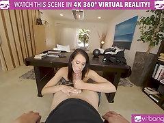 VRBangers.com-Sexy Milf Math Teacher Reagan Foxx Is Getting Fucked By A Young Stud