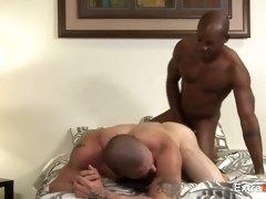 White Man Likes Black Cocks