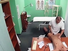 FakeHospital Dose of double cum cures sexy patient