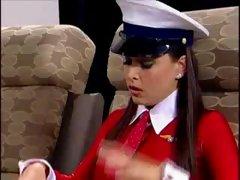 Lesbian plane  action