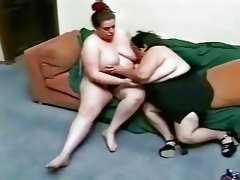 Three BBW on Couch
