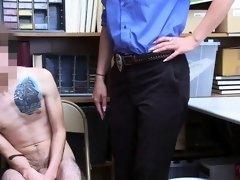 HOT MILF LP Officer Rachael Cavalli fucks a shoplifter