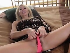 Erica Lauren Hot MILF in Tiger Outfit Solo